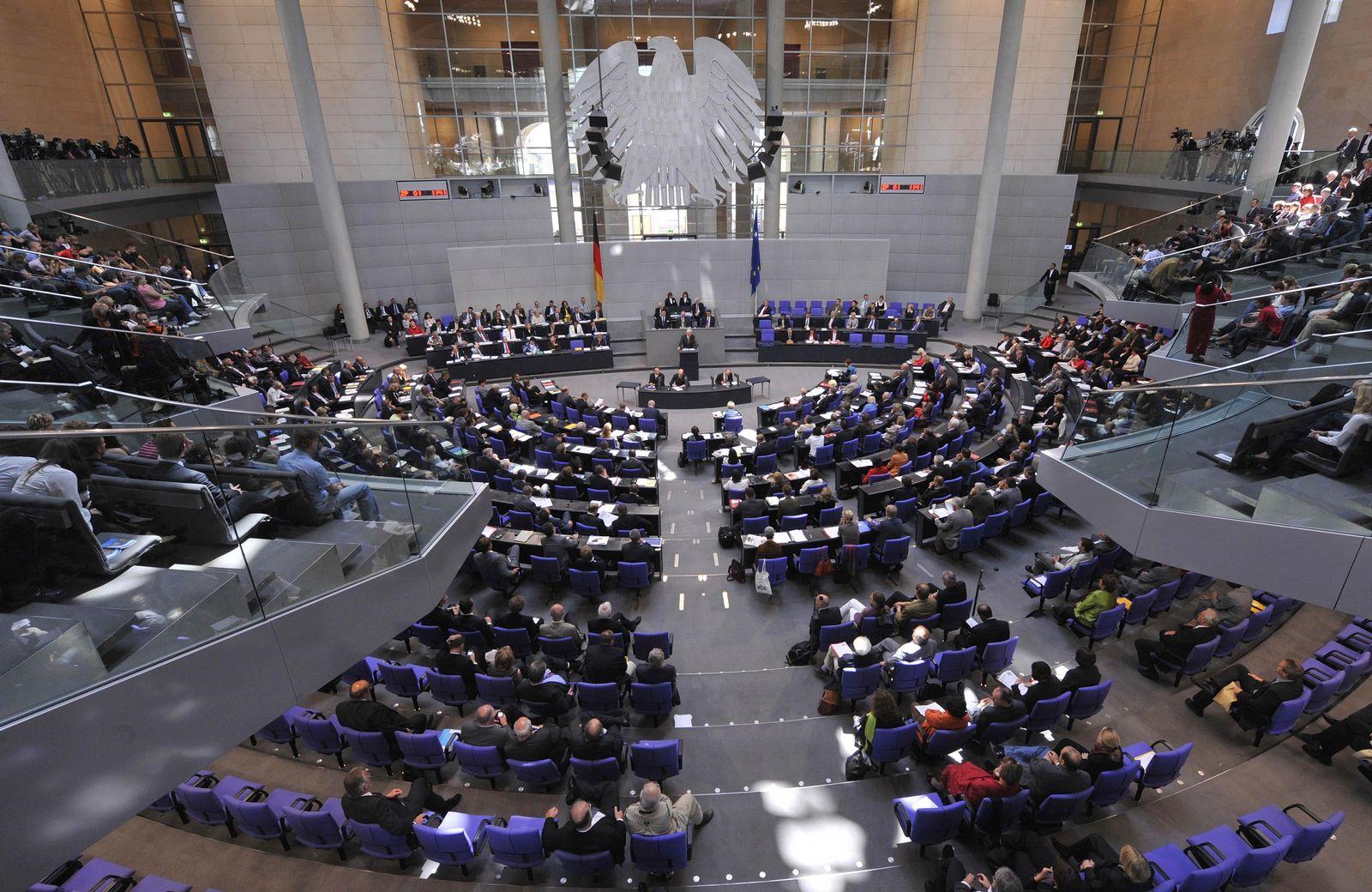 DEU Bundestag Afghanistan