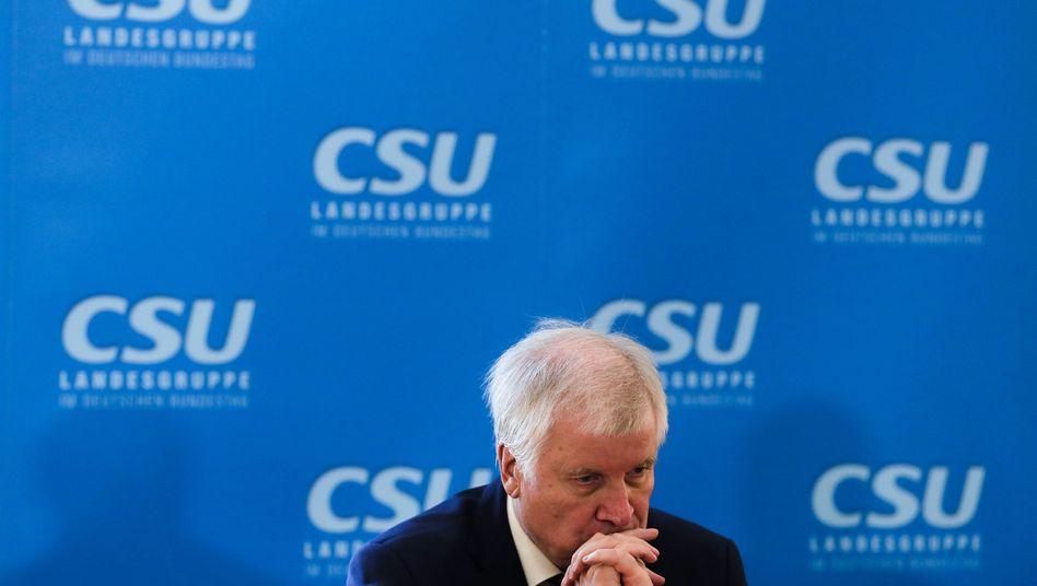 CSU-Vorsitzender Seehofer