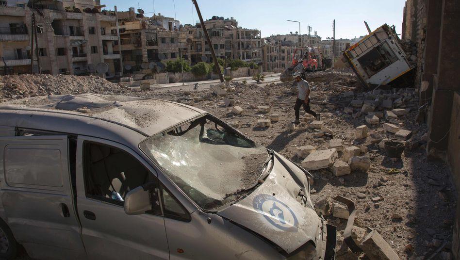 Zerstörung in Syrien