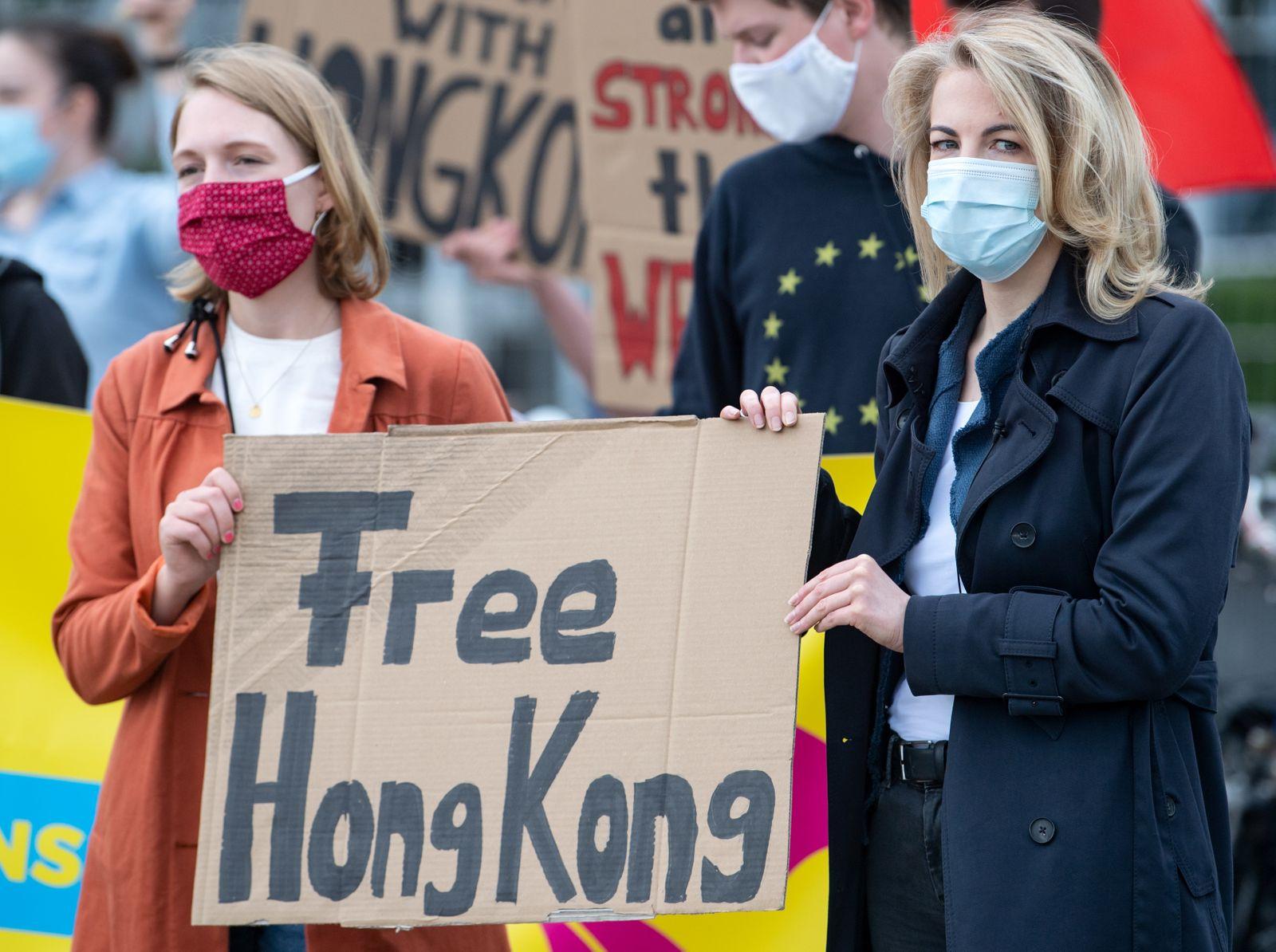 FDP protestiert gegen Einfluss Chinas auf Hongkong