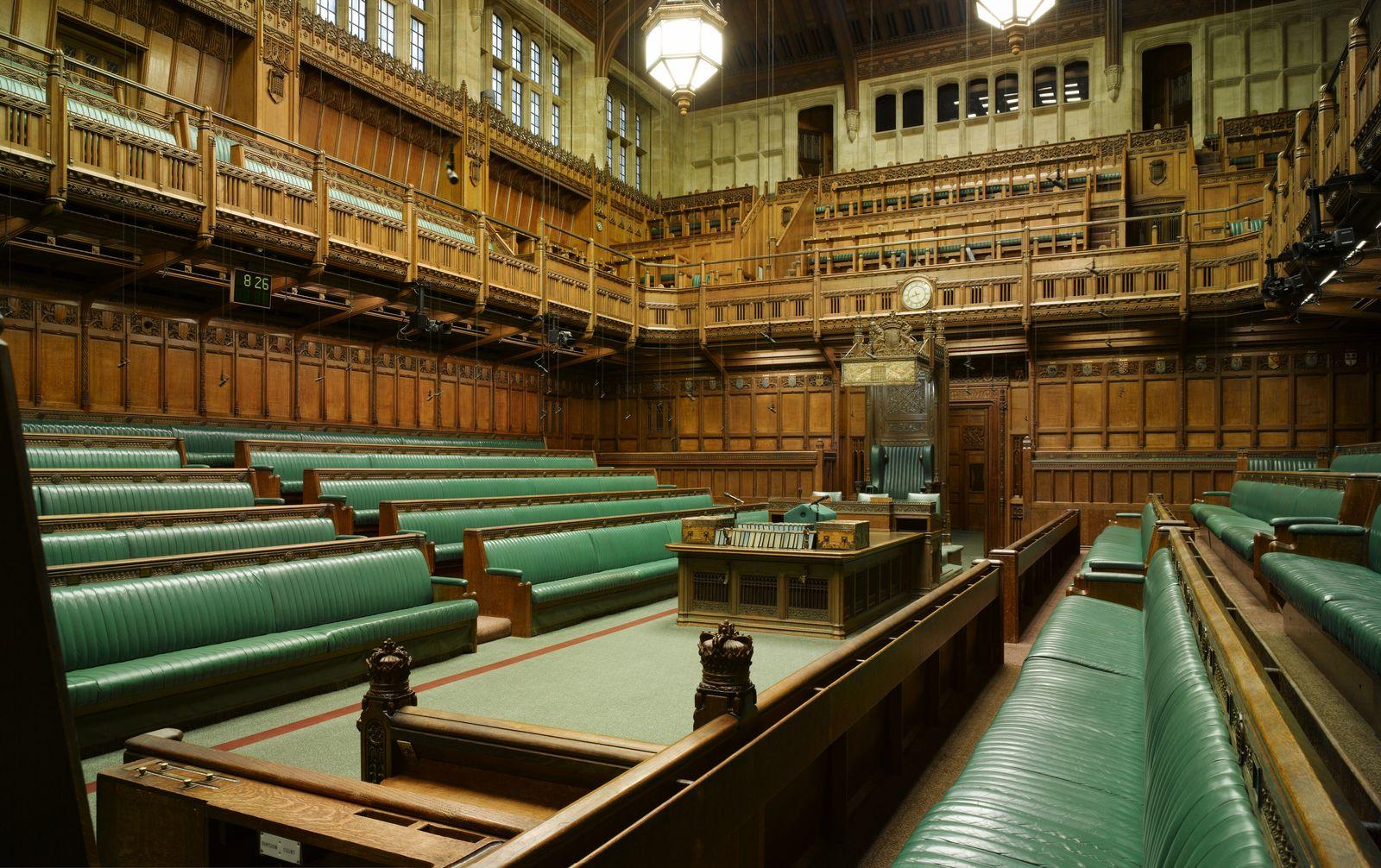 EINMALIGE VERWENDUNG House of Commons