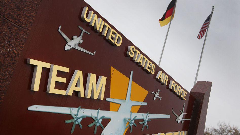 US-Airbase in Ramstein