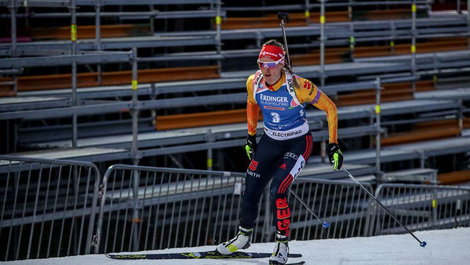 Denise Herrmann in Nove Mesto: Wegen des Corona-Virus finden die Rennen in Tschechien ohne Zuschauer statt