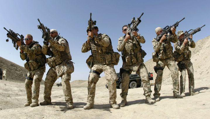 """Bundeswehrsoldaten in Kunduz (Schießübung): """"Die Taliban sind zurück"""""""