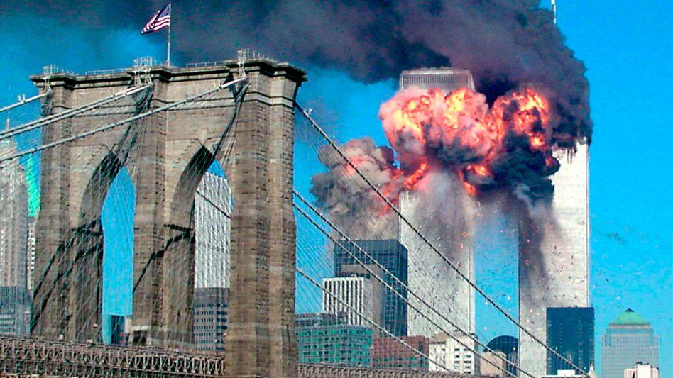 Brennende Zwillingstürme (am 11. September 2001): Folgen vor Gericht