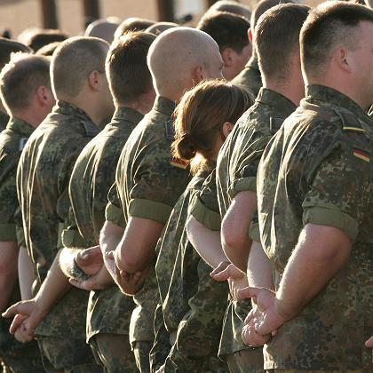 Bundeswehr-Soldaten: Künftig nur noch freiwillig?