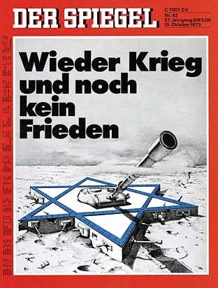 1973: Jom-Kippur-Krieg
