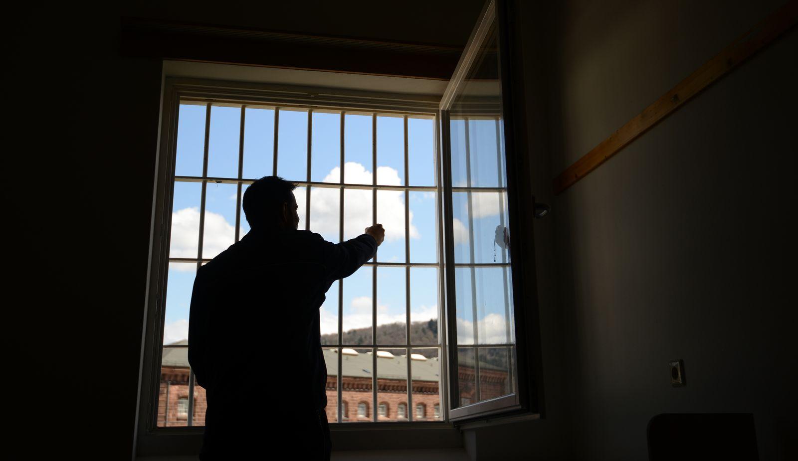 Gefängnis/ Fenster/ Sicherungsverwahrung