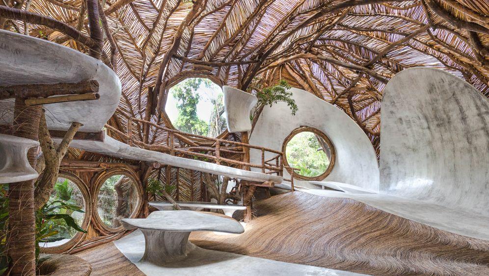 Tulum, Mexiko: Dieser Raum gehört zur Galerie Sfer Ik Museion Uh May, kurz IK Lab
