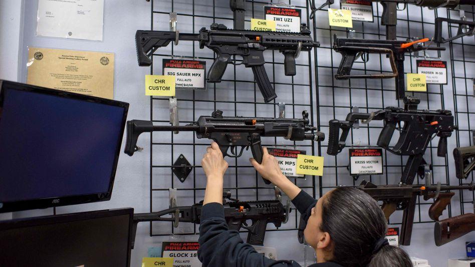 Waffengeschäft in Texas