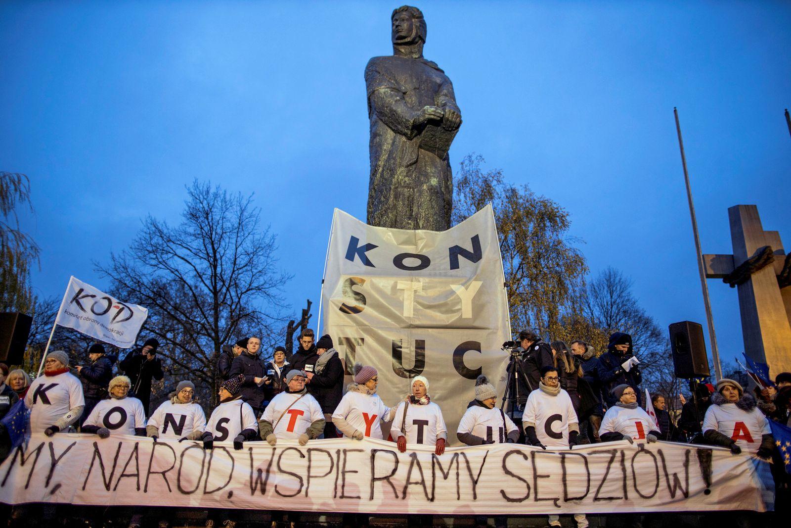 Polen / Justizreform / Proteste