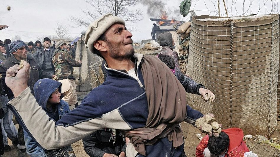 Proteste am US-Stützpunkt Bagram