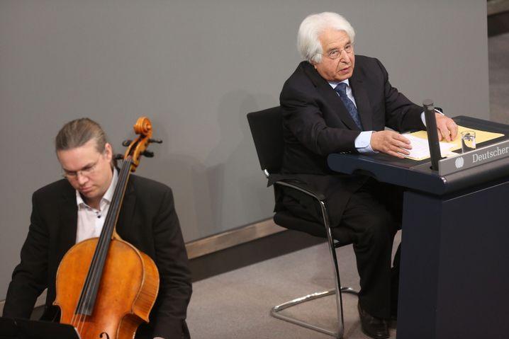 Saul Friedländer im Bundestag