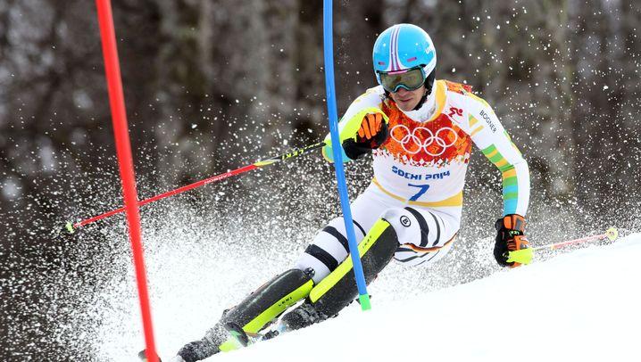 Bitteres Slalom-Ergebnis: Neureuther ausgeschieden, Dopfer Vierter