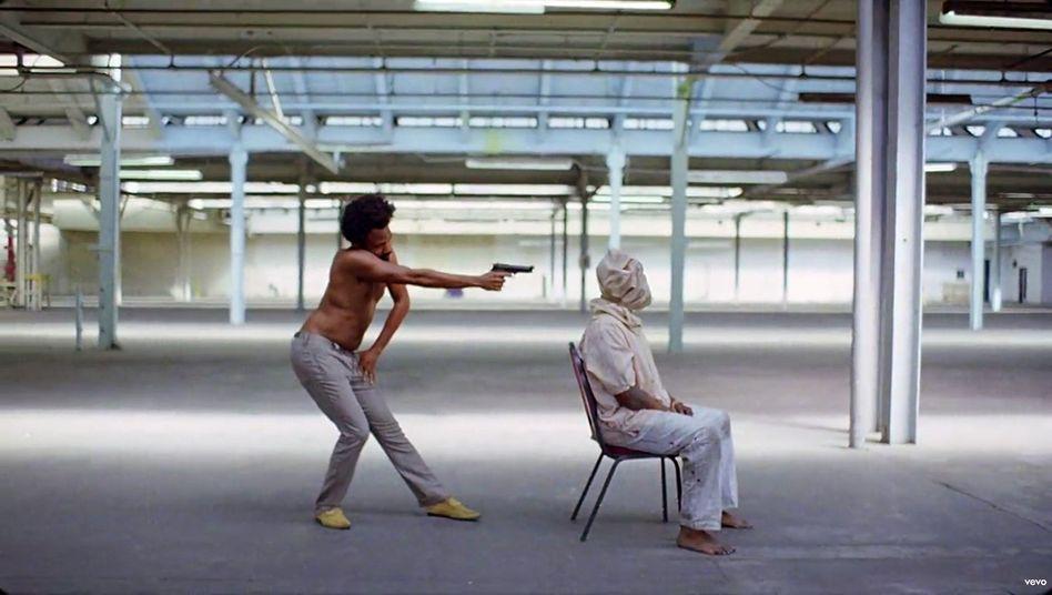 "Szene aus ""This Is America""-Video"