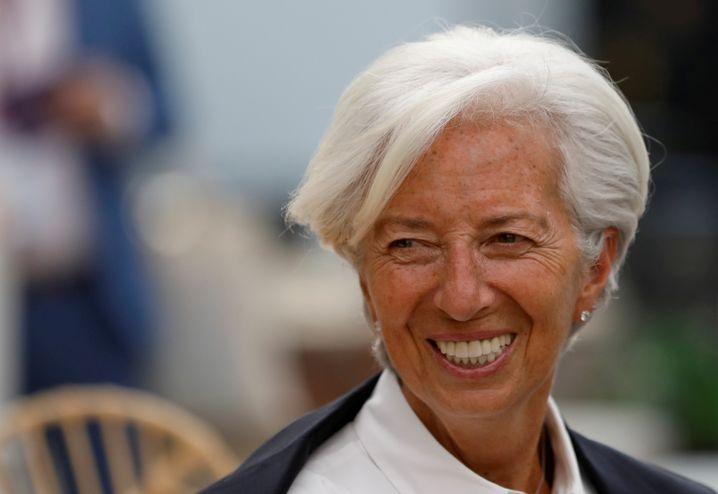 Christine Lagarde wird künftig Madame Euro, als Chefin in der Frankfurter Zentrale der Europäischen Zentralbank