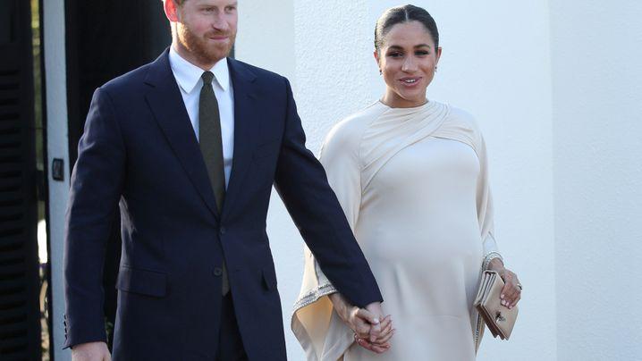 Prinz Harry und Meghan Markle: Bilder einer Ehe