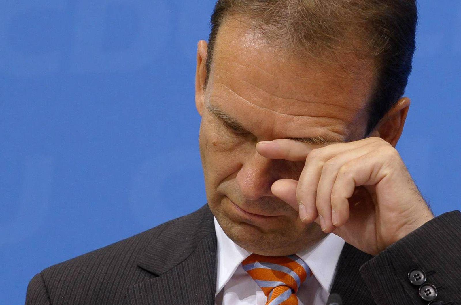 NICHT VERWENDEN Ministerpraesident Althaus tritt zurueck