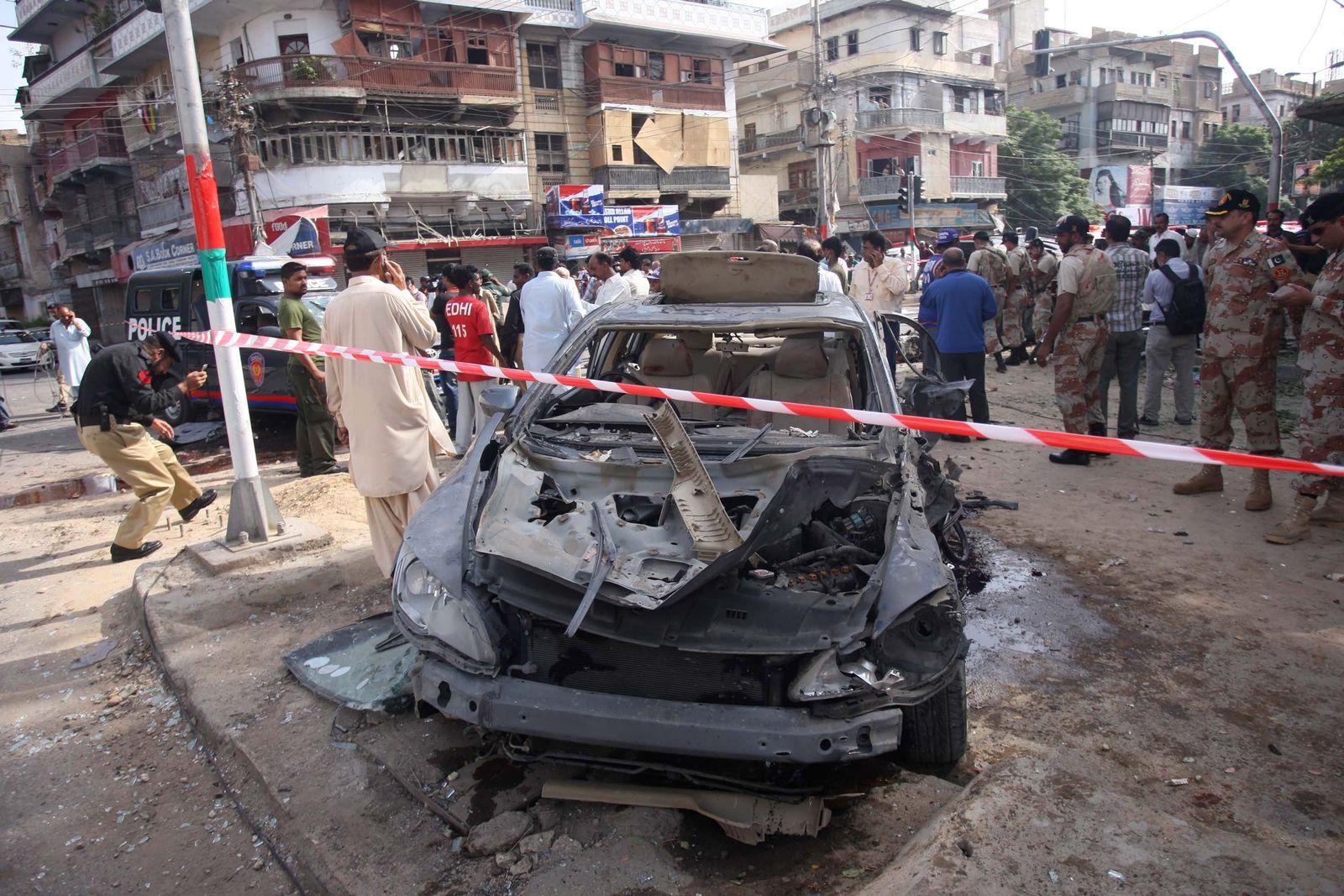 Pakistan / Anschlag