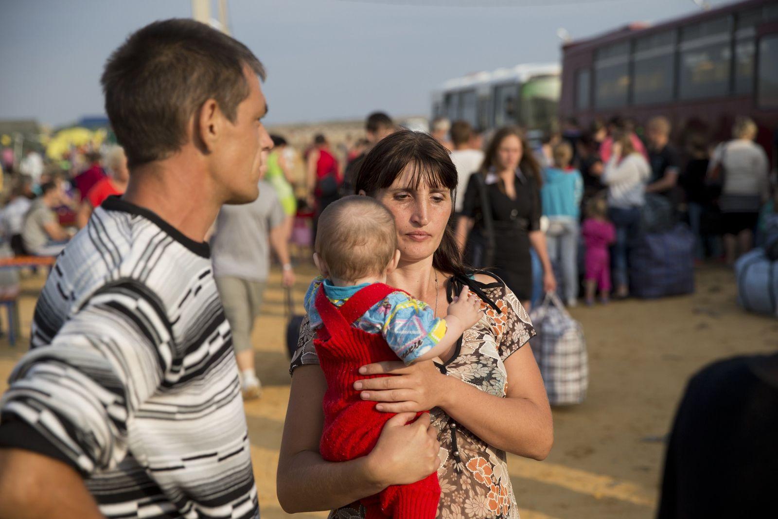 Ukraine/ Flüchtlinge