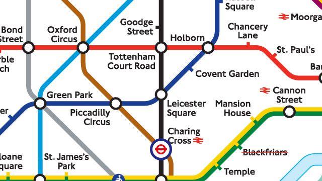 """Smartphone-App """"Tube Map"""": Wissen, wie es weitergeht, wenn es mal nicht weitergeht"""