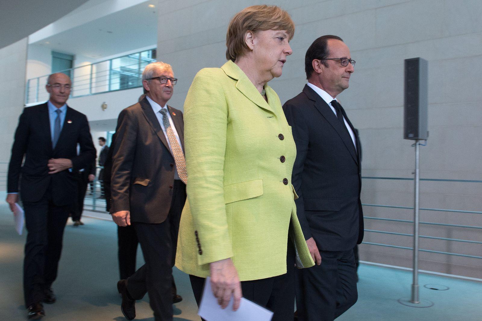 Merkel/Hollande