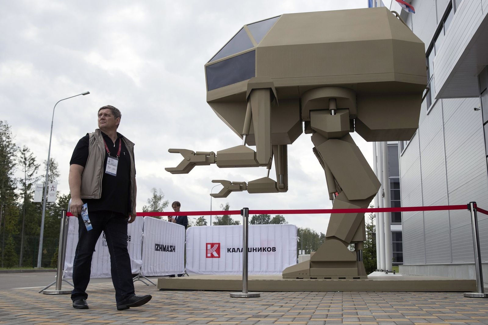 Russische Militär-Show Waffen