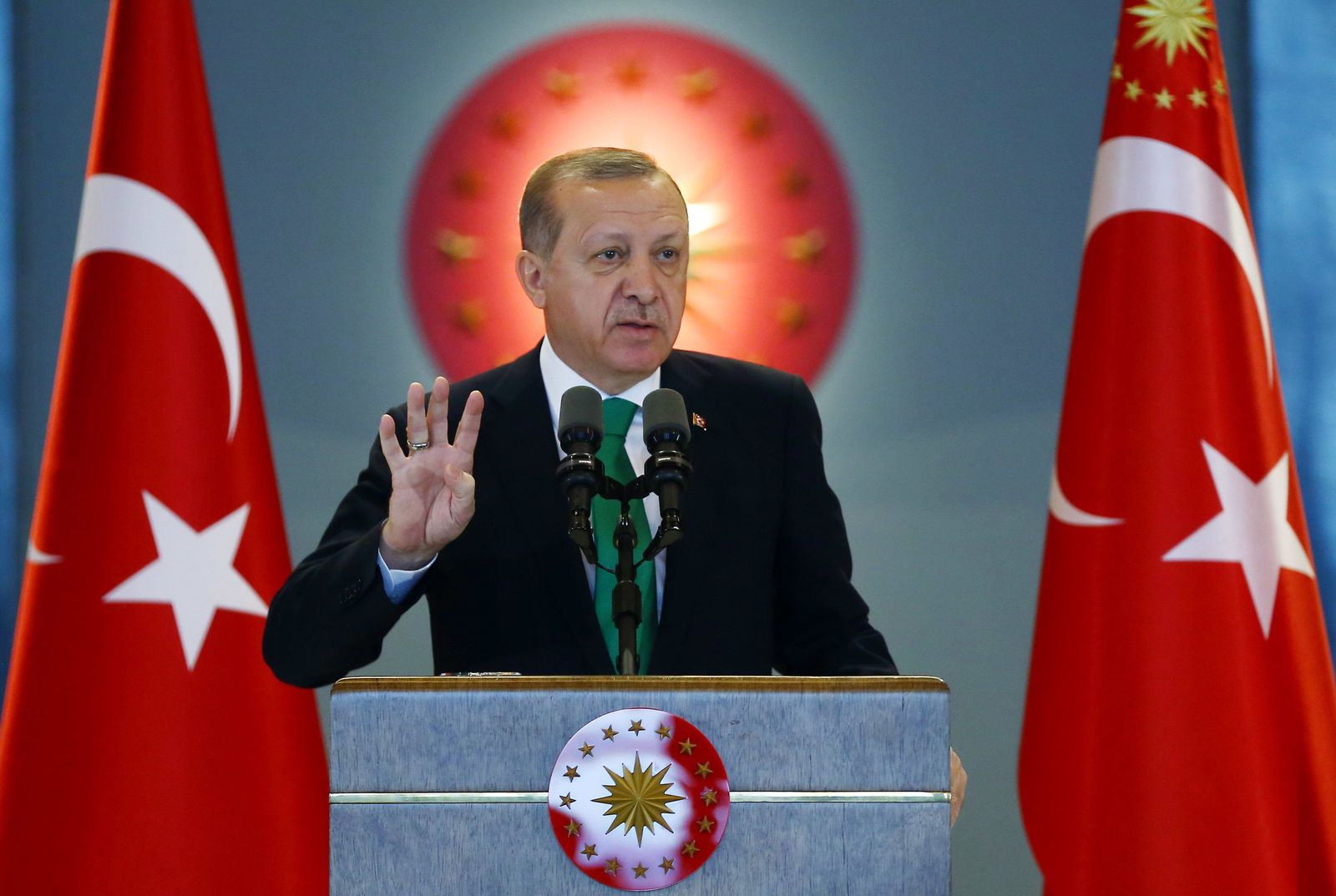 Recep Tayyip Erdogan / das neue Präsidialsystem