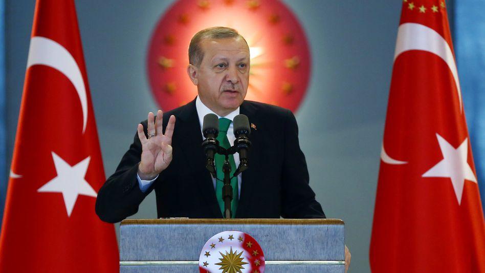 Präsident Erdogans Türkei: Abstieg im Transparency-Ranking