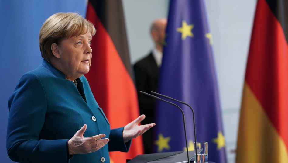 Corona Krise: Angela Merkel in häuslicher Quarantäne DER