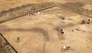 Ausgrabungsgelände: Einblicke in die Welt der ersten Bauern Europas