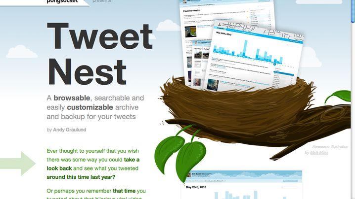 Twitter-Archiv: Tweet Nest speichert und sucht