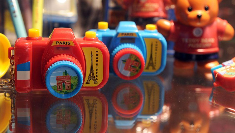 Spielwarenmesse in Hongkong (Archivbild): Spielzeug aus Asien ist oft stärker mit Schadstoffen belastet