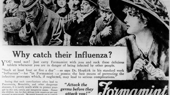 Spanische Grippe: Das Jahr des Todes
