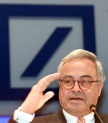 Rolf Breuer (als Bankchef im Januar 2002): Kirch will Schadenersatz