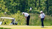 Wieder mehr Corona-Tote in den USA - und Trump geht golfen