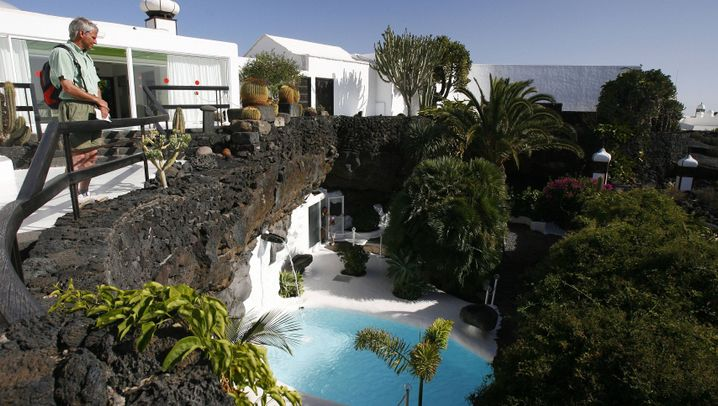 Lanzarote: César Manriques Residenz - hier wohnte der Künstler