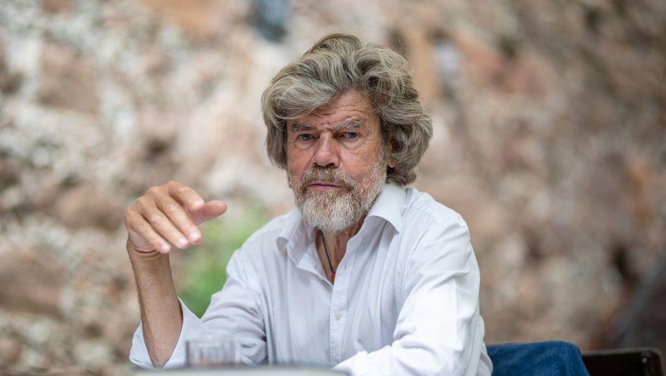 """Als """"sehr bereichernd"""" bezeichnet Reinhold Messner die Gespräche mit Angela Merkel"""