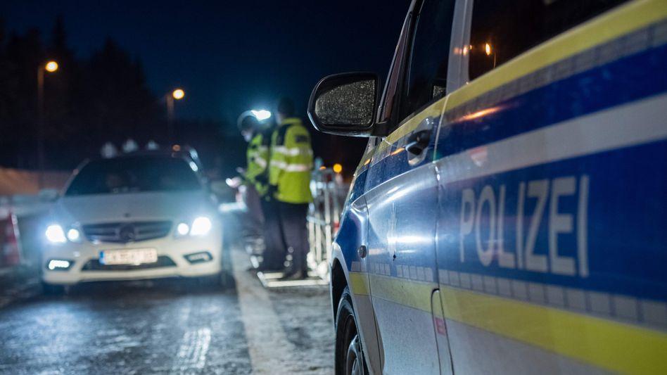 Polizeieinsatz nahe Marienberg (Symbolfoto)