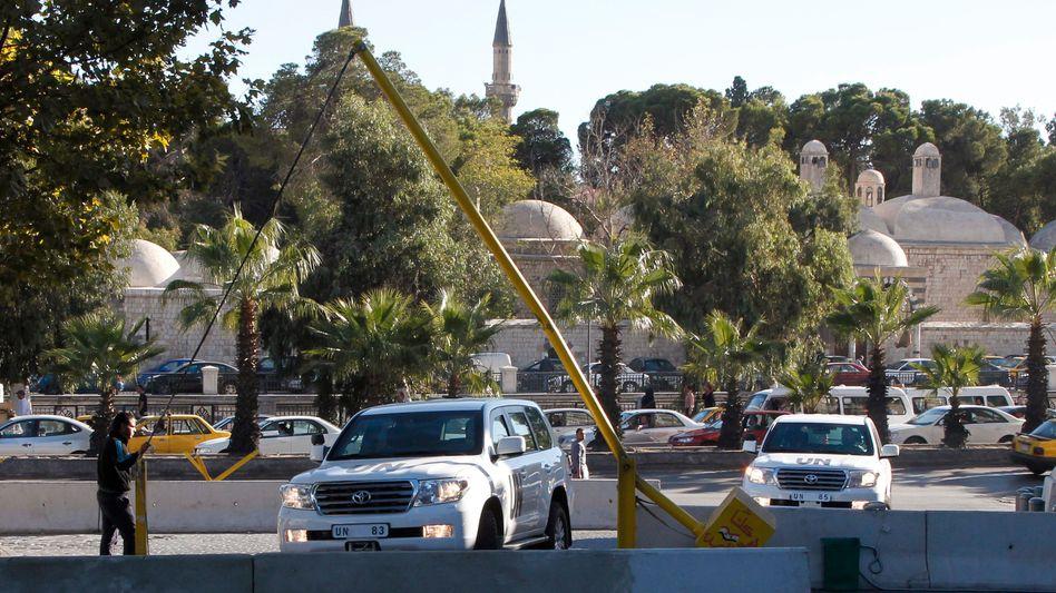 OPCW-Kontrolleure in Damaskus: Schwere Vorwürfe gegen Assad