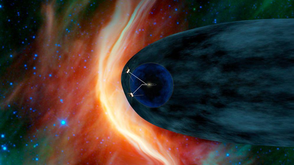"""US-Raumsonde: """"Voyager"""" völlig losgelöst"""