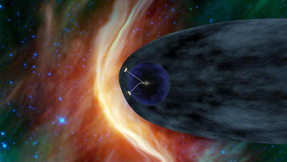 """""""Voyager 1"""": Auf der Schwelle des interstellaren Raums"""