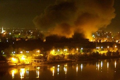 Nächtlicher Angriff auf Bagdad: Bombardements gehen unvermindert weiter