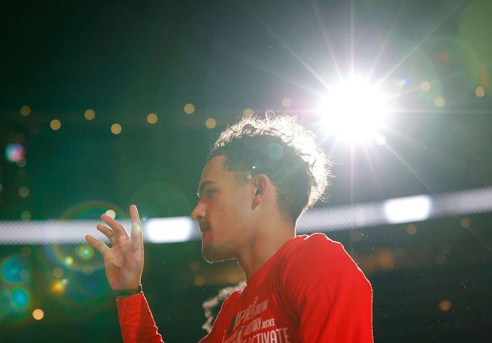 Schaffte es in seinem zweiten Jahr erstmals zum All-Star: Trae Young