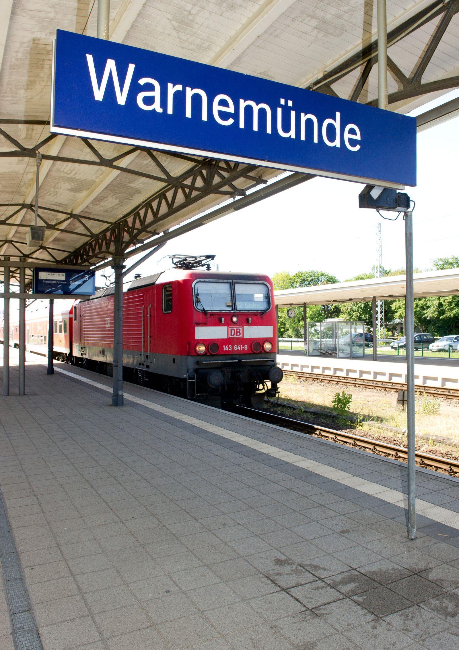 Bahnhof Rostock-Warnemünde