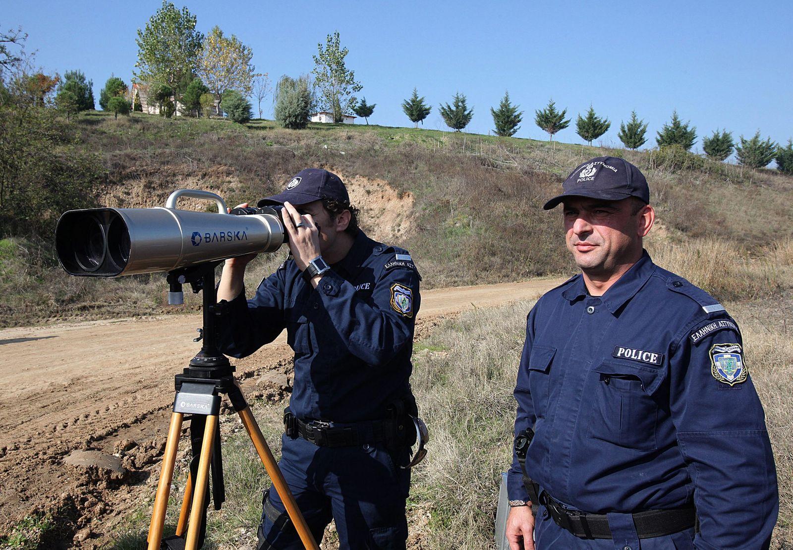 Frontex Griechenland Archivbild