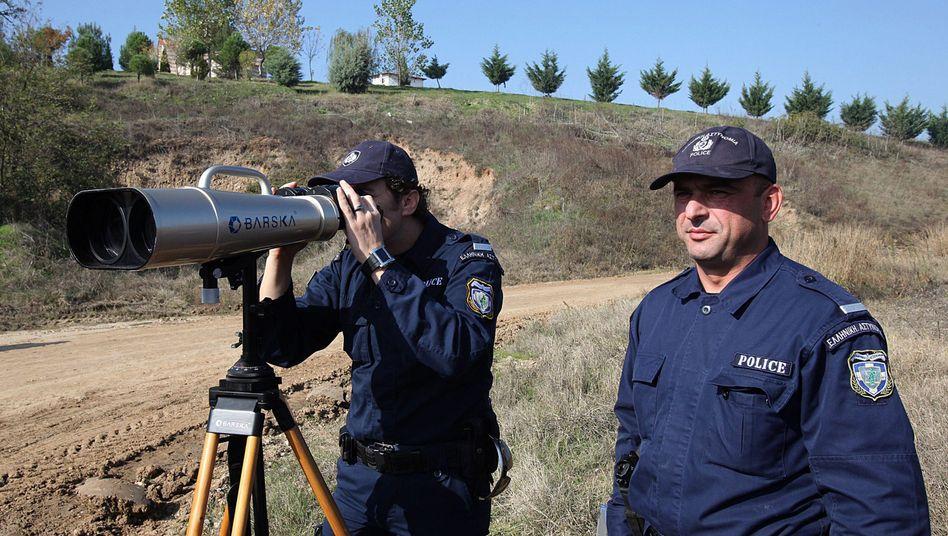 Griechische Grenzschützer (Archivbild)
