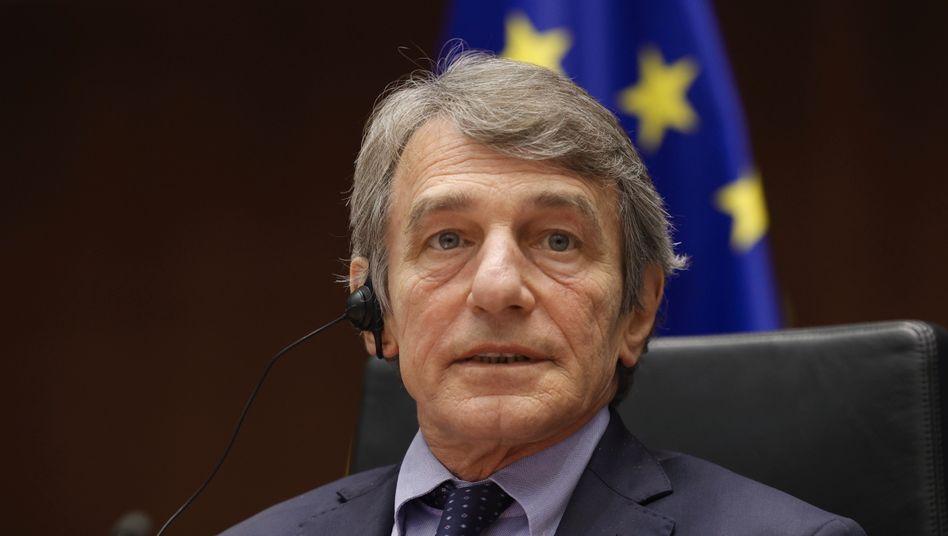 EU-Parlamentspräsident David Sassoli darf nicht mehr nach Russland reisen