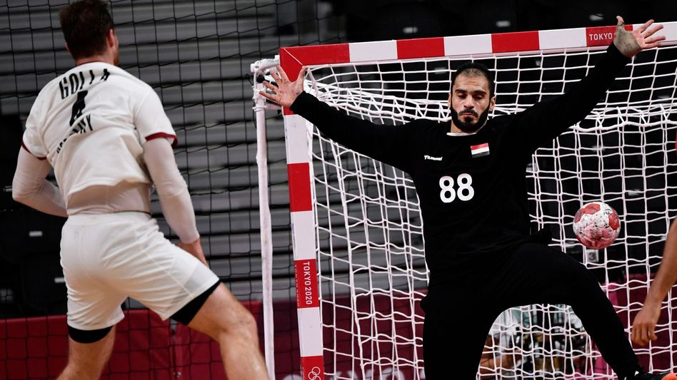 Ägyptens Keeper Karim Hendawy: »Super gehalten«
