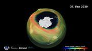 Forscher melden großes Ozonloch über der Antarktis